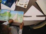 Using fiction books to inspire shape poems in PreK