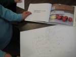 Finished apple poem with nonfiction inspiration