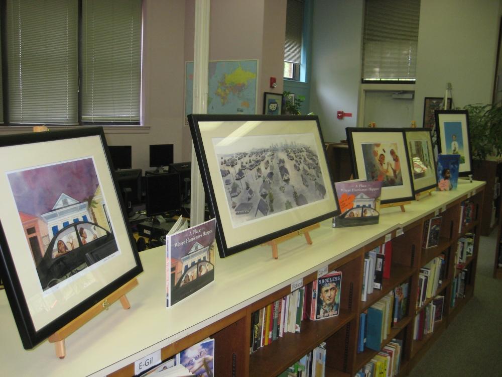 Ashley Bryan Traveling Exhibit of Illustrated Africana Children's Literature featuring Shadra Strickland (1/2)