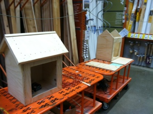 Athens Home Depot is building and donating 2 Little Free Libraries for us to decorate
