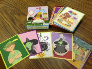 These cards were used prior to moving into Storybird.