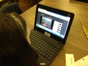 Using webcams to practice observation