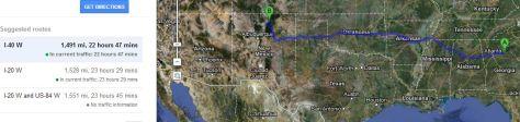 FireShot Screen Capture #023 - '280 Gaines School Rd, Athens, GA 30605 to Taos, NM - Google Maps' - maps_google_com