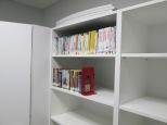 DVDs in equipment room