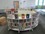 Fiction shelves minus some popular series