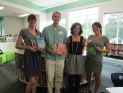 The Avid Bookshop dynamic duo with Gennifer and Mr. Plemmons