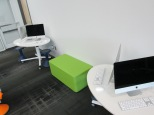 iMac video editing stations