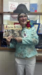 A is for Arrr! with Mrs. Crook