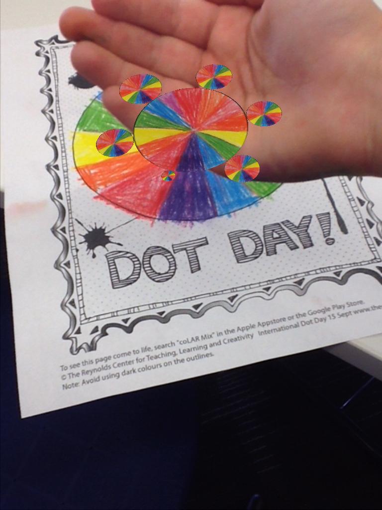 Colar Mix 3d Coloring Book : Dot day fun with colar mix app expect the miraculous