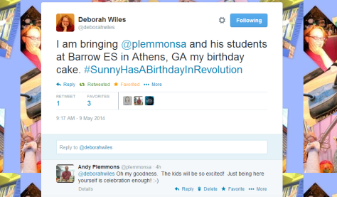 Twitter   deborahwiles  I am bringing  plemmonsa and ...
