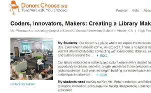 FireShot Screen Capture #019 - 'Coders, Innovators, Makers_ Creating a Library Makerspace' - www_donorschoose_org_project_coders-innovators-makers-creating-a-l_1253089__rf=link-siteshare-2014-07-teacher_accoun