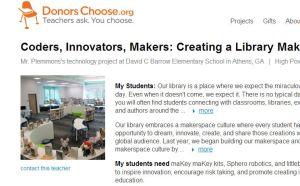 FireShot Screen Capture #019 - 'Coders, Innovators, Makers_ Creating a Library Makerspace' - www_donorschoose_org_project_coders-innovators-makers-creating-a-l_1253089__rf=link-siteshare-2014-07-teacher_accoun