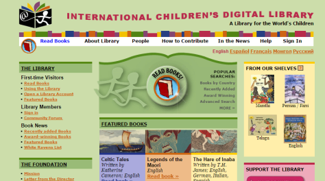 ICDL   International Children s Digital Library