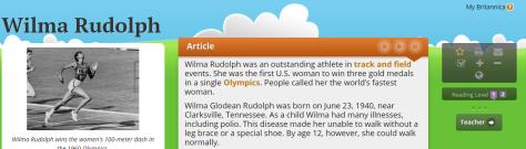 Wilma Rudolph    Britannica School