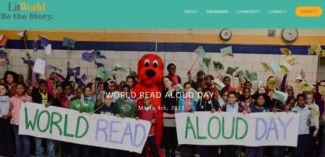 World Read Aloud Day — LitWorld