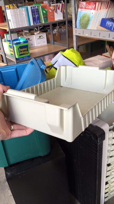 bins at recycling