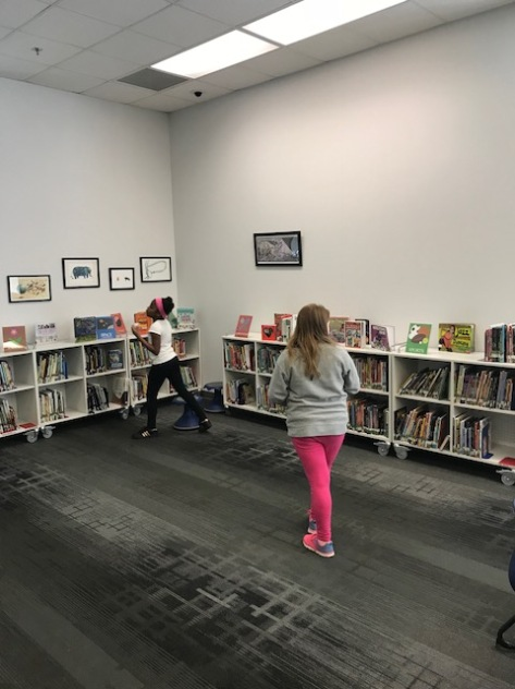 During Our First Meeting Students Thought About What They Might Put On A Survey Reading Interests Started By Doing Walk Around The Library