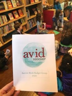 Avid Student Book Budget (19)