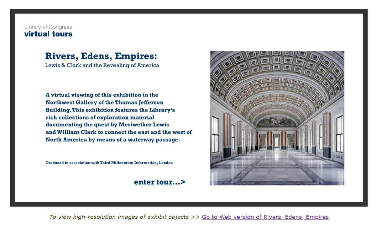 VIRTUAL TOUR  Rivers  Edens  Empires  Lewis  amp  Clark and the Revealing of America  Library of Congress Exhibition .png